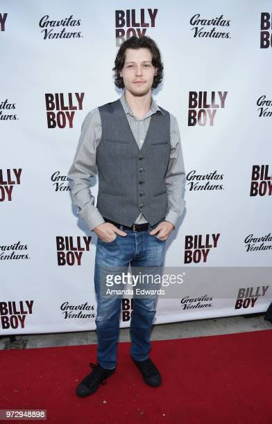 Actor Nick Eversman arrives at the Los Angeles premiere of 'Billy Boy' at the Laemmle Music Hall on June 12 2018 in Beverly Hills California