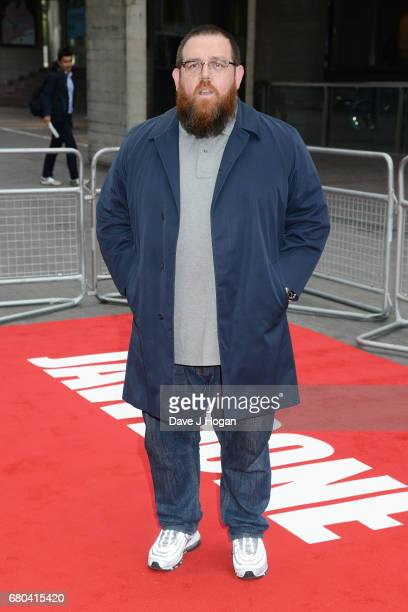 Actor Nick Frost attends the Jawbone UK premiere at BFI Southbank on May 8 2017 in London United Kingdom