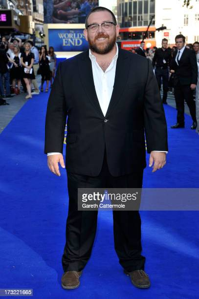 Actor Nick Frost attends the World Premiere of The World's End at Empire Leicester Square on July 10 2013 in London England