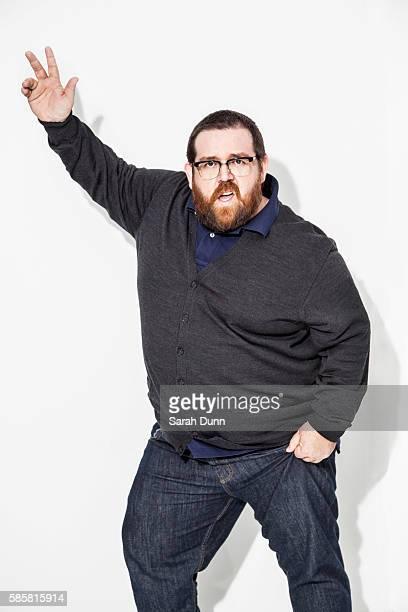Actor Nick Frost is photographed for Empire magazine on January 31 2013 in London England