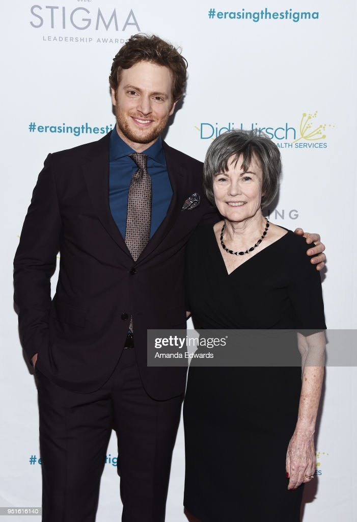 Actor Nick Gehlfuss (L) and Didi Hirsch Community Mental Health Center President and CEO Kita Curry arrive at the Didi Hirsch Mental Health Services' 2018 Erasing The Stigma Leadership Awards at The Beverly Hilton Hotel on April 26, 2018 in Beverly Hills, California.
