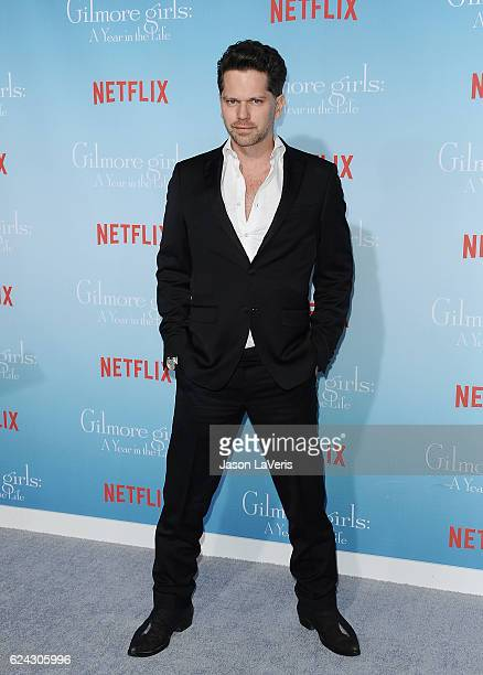 Actor Nick Holmes attends the premiere of Gilmore Girls A Year in the Life at Regency Bruin Theatre on November 18 2016 in Los Angeles California