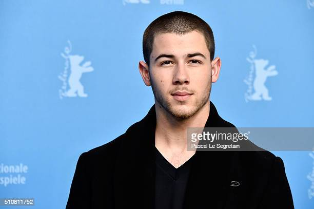 Actor Nick Jonas attends the 'Goat' photo call during the 66th Berlinale International Film Festival Berlin at Grand Hyatt Hotel on February 17 2016...