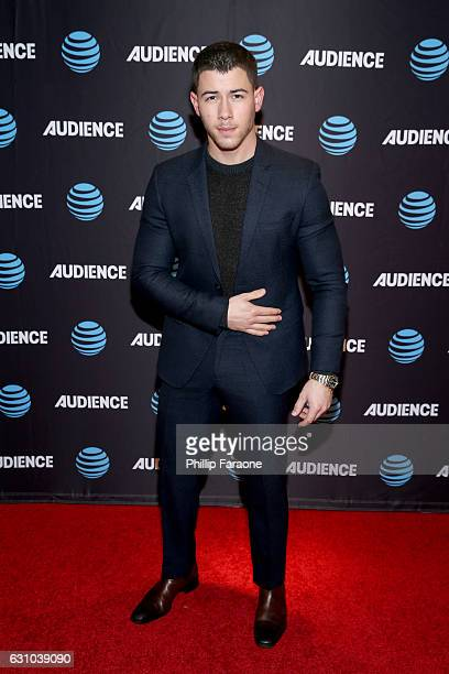 Actor Nick Jonas of ATT's Original Series 'Kingdom' attends ATT AUDIENCE 2017 Winter TCA Presentation at Langham Hotel on January 5 2017 in Pasadena...