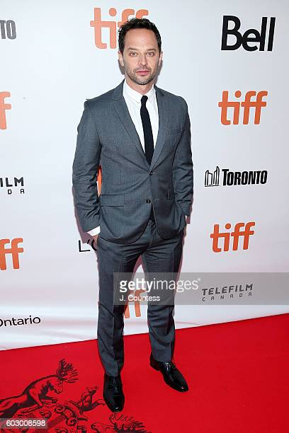 Actor Nick Kroll arrives at the 2016 Toronto International Film Festival Premiere of Loving at Roy Thomson Hall on September 11 2016 in Toronto Canada