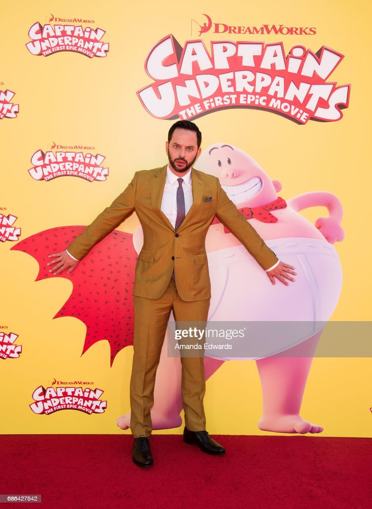 Actor Nick Kroll arrives at the premiere of 20th Century Fox's 'Captain Underpants: The First Epic Movie' at the Regency Village Theatre on May 21, 2017 in Westwood, California.