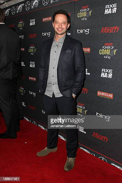 Actor Nick Kroll arrives at Variety's 3rd annual Power of Comedy event presented by Bing benefiting the Noreen Fraser Foundation held at Avalon on...
