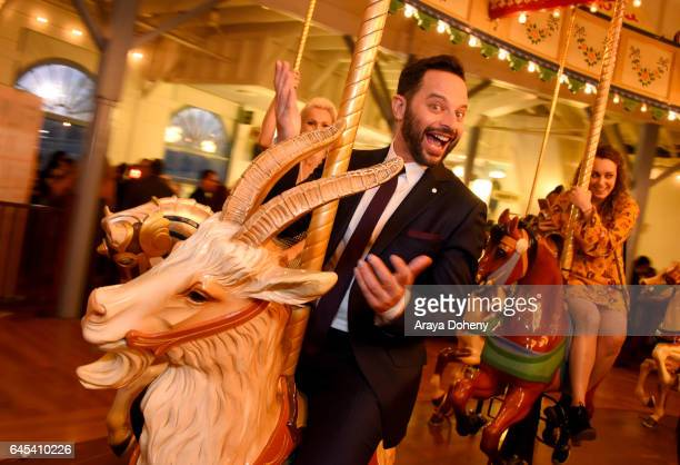 Actor Nick Kroll attends the 2017 Film Independent Spirit Awards at the Santa Monica Pier on February 25 2017 in Santa Monica California