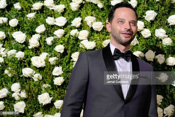 Actor Nick Kroll attends the 2017 Tony Awards at Radio City Music Hall on June 11 2017 in New York City