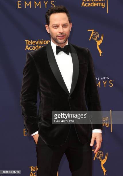 Actor Nick Kroll attends the 2018 Creative Arts Emmy Awards Day 2 at the Microsoft Theater on September 9 2018 in Los Angeles California