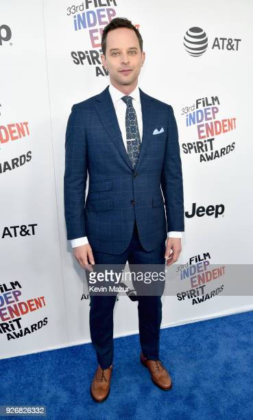 Actor Nick Kroll attends the 2018 Film Independent Spirit Awards on March 3 2018 in Santa Monica California