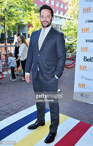 Actor Nick Kroll attends the 'Adult Beginners' premiere during the 2014 Toronto International Film Festival at Ryerson Theatre on September 8 2014 in...
