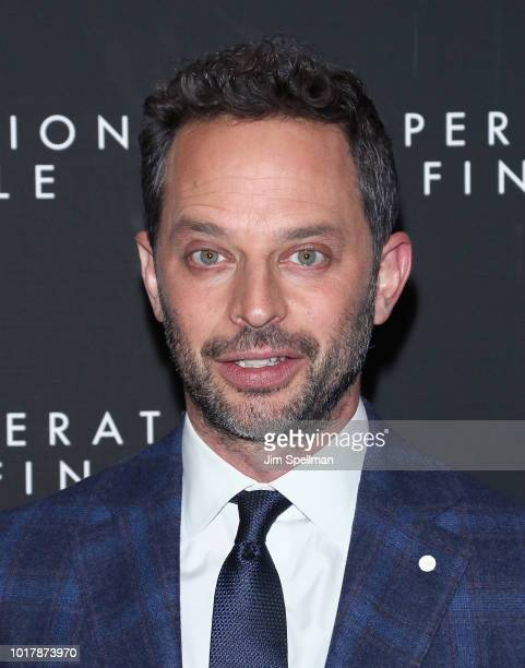 Actor Nick Kroll attends the 'Operation Finale' New York premiere at Walter Reade Theater on August 16 2018 in New York City