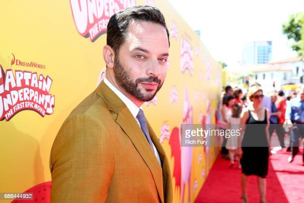 Actor Nick Kroll attends the premiere Of 20th Century Fox's 'Captain Underpants The First Epic Movie' at Regency Village Theatre on May 21 2017 in...