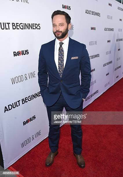 Actor Nick Kroll attends the premiere of 'Adult Beginners' at ArcLight Hollywood on April 15 2015 in Hollywood California
