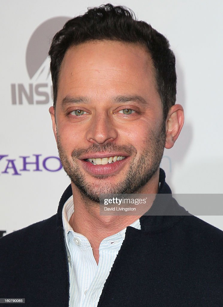 Actor Nick Kroll attends the premiere of 'Burning Love' Season 2 at the Paramount Theater on the Paramount Studios lot on February 5, 2013 in Hollywood, California.