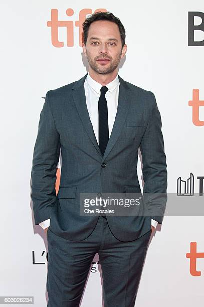 Actor Nick Kroll attends the premiere of Loving during the 2016 Toronto International Film Festival at Roy Thomson Hall on September 11 2016 in...