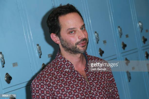 Actor Nick Kroll attends the Screening Of A24's 'Eighth Grade' Arrivals at Le Conte Middle School on July 11 2018 in Los Angeles California