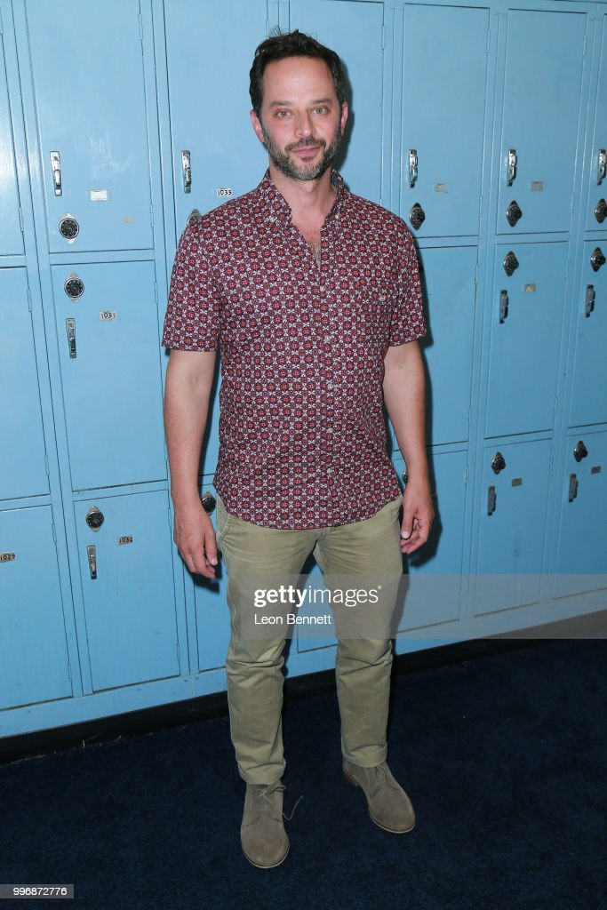Actor Nick Kroll attends the Screening Of A24's 'Eighth Grade' - Arrivals at Le Conte Middle School on July 11, 2018 in Los Angeles, California.