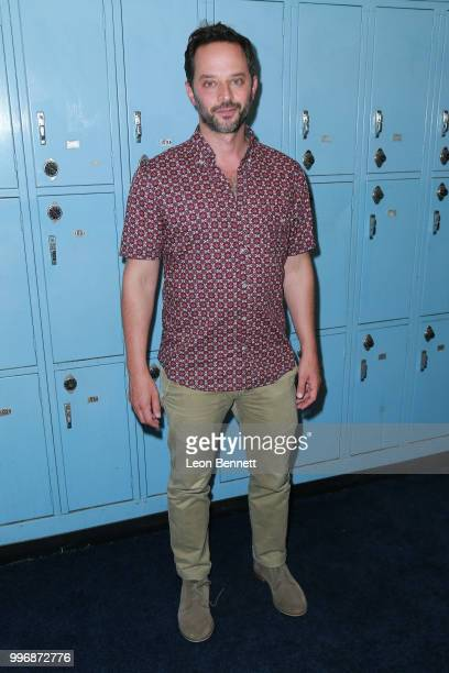 Actor Nick Kroll attends the Screening Of A24's Eighth Grade Arrivals at Le Conte Middle School on July 11 2018 in Los Angeles California