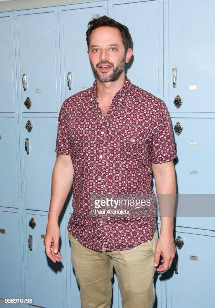 Actor Nick Kroll attends the screening of A24's 'Eighth Grade' at Le Conte Middle School on July 11 2018 in Los Angeles California