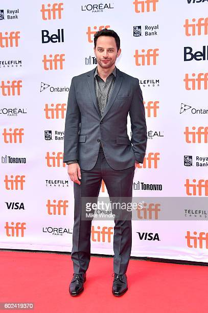 Actor Nick Kroll attends the 'Sing' premiere during the 2016 Toronto International Film Festival at Princess of Wales Theatre on September 11 2016 in...