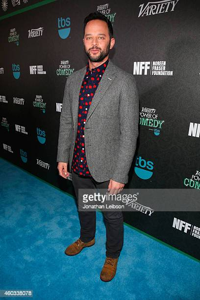 Actor Nick Kroll attends Variety's 5th annual Power of Comedy presented by TBS benefiting the Noreen Fraser Foundation at The Belasco Theater on...