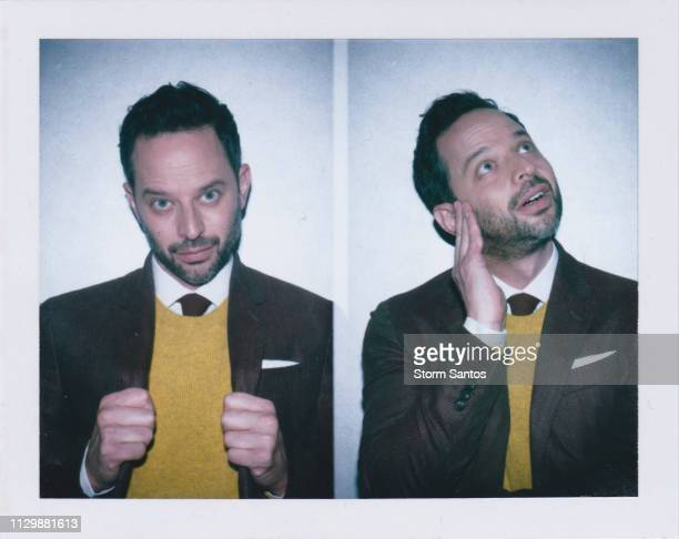 Actor Nick Kroll is photographed for Sharp Magazine on July 20 2018 in Los Angeles California