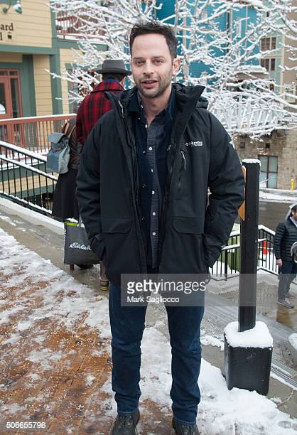Actor Nick Kroll is seen around town at the Sundance Film Festival on January 24 2016 in Park City Utah