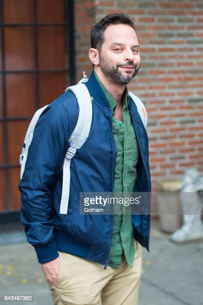 Actor Nick Kroll is seen in the East Village on September 6 2017 in New York City