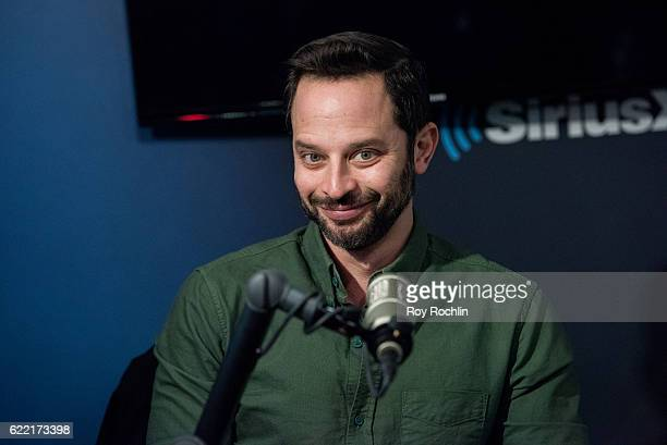 Actor Nick Kroll visits SiriusXM Studio on November 10 2016 in New York City