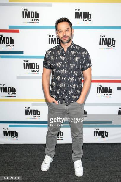 Actor Nick Kroll visits 'The IMDb Show' on September 18 2018 in Studio City California This episode of 'The IMDb Show' airs on October 4 2018