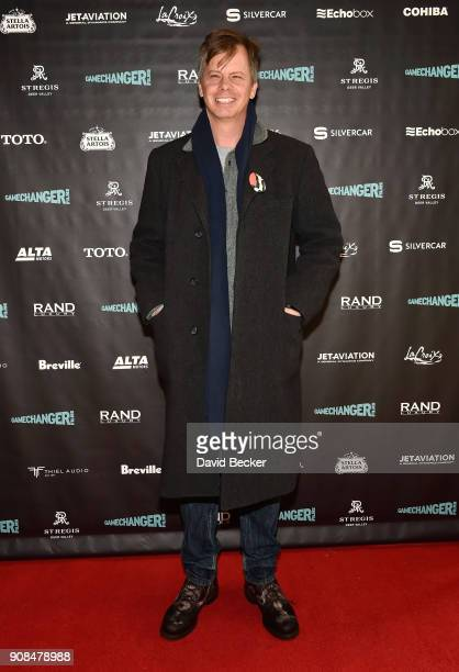 Actor Nick Morton attends the Gamechanger Films reception at the RAND Luxury Escape during the 2018 Sundance Film Festival at The St Regis Deer...