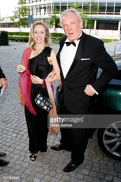 Actor Nick Nolte and Clytie Lane attend An Evening For Africa at the Burda Medien Park on June 7 2010 in Offenburg Germany