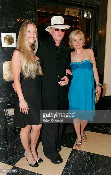 S actor Nick Nolte and guests attend the Grimme Online Award ceremony on June 30 2005 in Cologne Germany