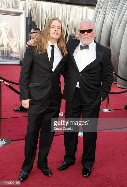 Actor Nick Nolte and son Brawley Nolte arrive at the 84th Annual Academy Awards held at the Hollywood Highland Center on February 26 2012 in...