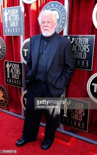Actor Nick Nolte arrives at the 18th Annual Screen Actors Guild Awards at The Shrine Auditorium on January 29 2012 in Los Angeles California