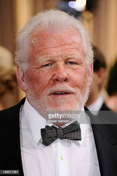 Actor Nick Nolte arrives at the 84th Annual Academy Awards held at the Hollywood Highland Center on February 26 2012 in Hollywood California