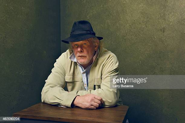 Actor Nick Nolte from A Walk in the Woods poses for a portrait at the Village at the Lift Presented by McDonald's McCafe during the 2015 Sundance...