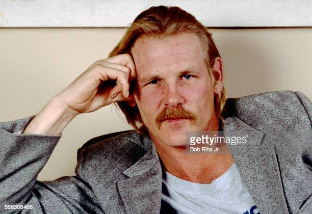 Actor Nick Nolte on January 15 1986 in Los Angeles California