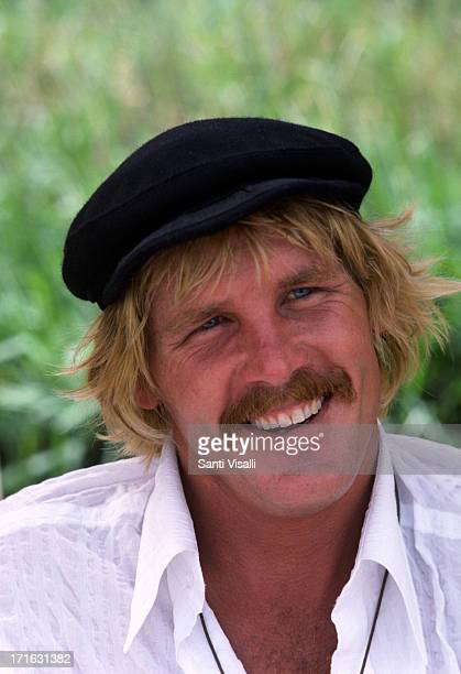 Actor Nick Nolte on the set of The Deep on November 51976 in Hamilton Bermuda