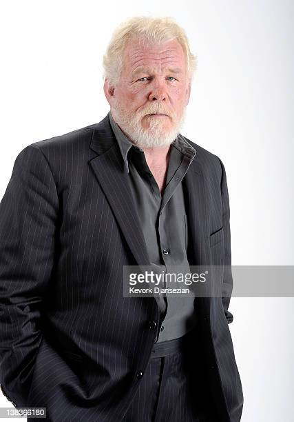 Actor Nick Nolte poses for a portrait during the 84th Academy Awards Nominations Luncheon at The Beverly Hilton hotel on February 6 2012 in Beverly...