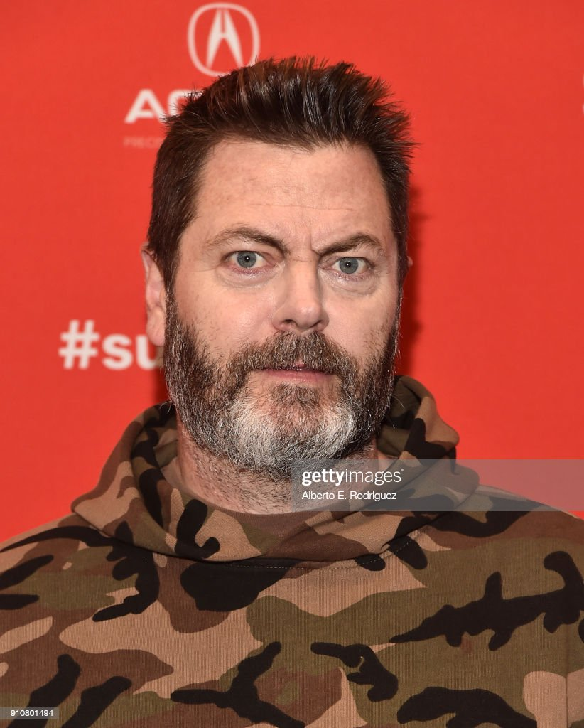 Actor Nick Offerman attends the premiere of 'Heart Beats Loud' during the Sundance Film Festival at The Eccles Center Theatre on January 26, 2018 in Park City, Utah.