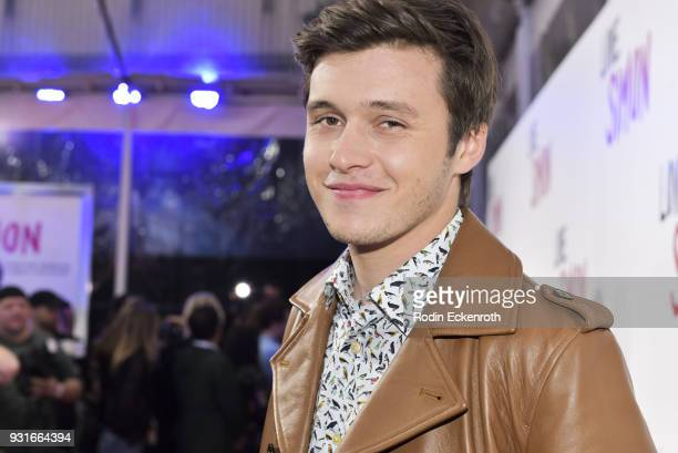 Actor Nick Robinson attends a special screening of 20th Century Fox's 'Love Simon' at Westfield Century City on March 13 2018 in Los Angeles...