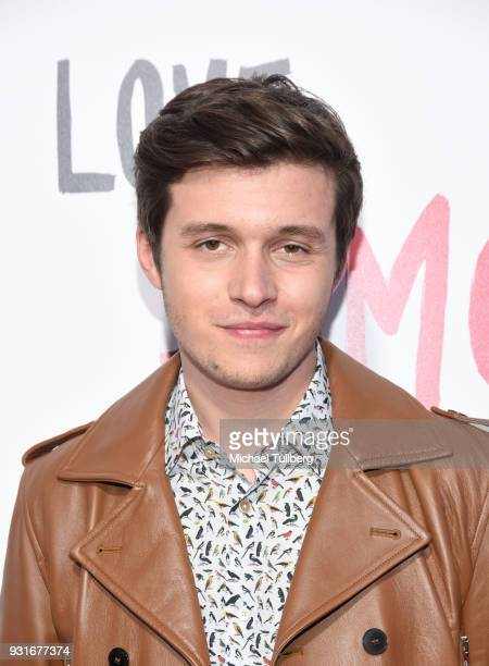 "Actor Nick Robinson attends a special screening of 20th Century Fox's ""Love, Simon"" at Westfield Century City on March 13, 2018 in Los Angeles,..."
