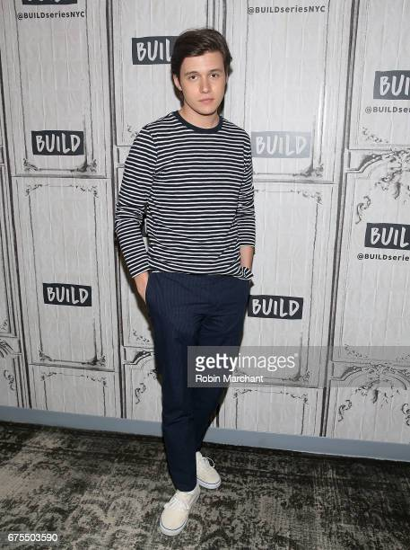Actor Nick Robinson attends Build Presents The Cast Of 'Everything Everything' at Build Studio on May 1 2017 in New York City