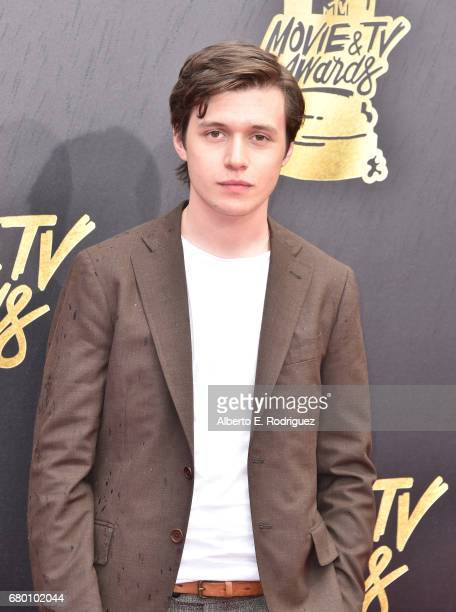 Actor Nick Robinson attends the 2017 MTV Movie And TV Awards at The Shrine Auditorium on May 7 2017 in Los Angeles California