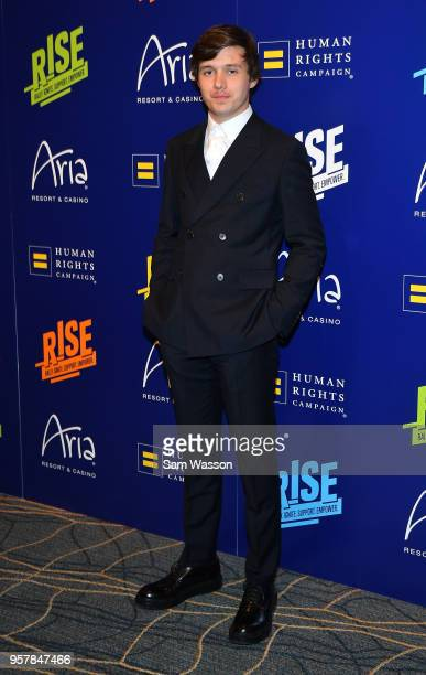 Actor Nick Robinson attends the Human Rights Campaign's 13th annual Las Vegas Gala at the Aria Resort Casino on May 12 2018 in Las Vegas Nevada