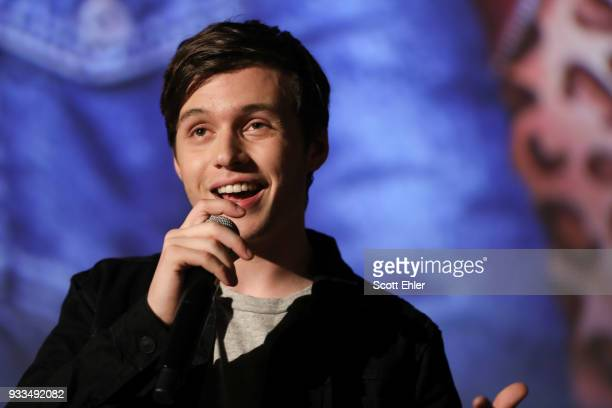 Actor Nick Robinson attends the Love Simon Australian Premiere on March 18 2018 in Sydney Australia