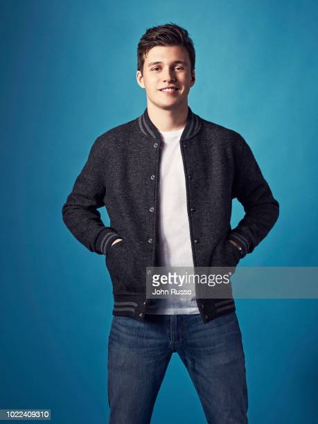 Actor Nick Robinson is photographed for 20th Century Fox on January 9 2018 in Los Angeles California